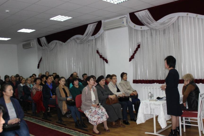 25.10.2018 г. для родителей 1 курсов было проведено родительское собрание.