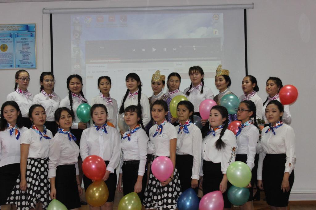 группа Ш-24, куратор Нурбаева К.А. Суммарное количество баллов за выступление — 123