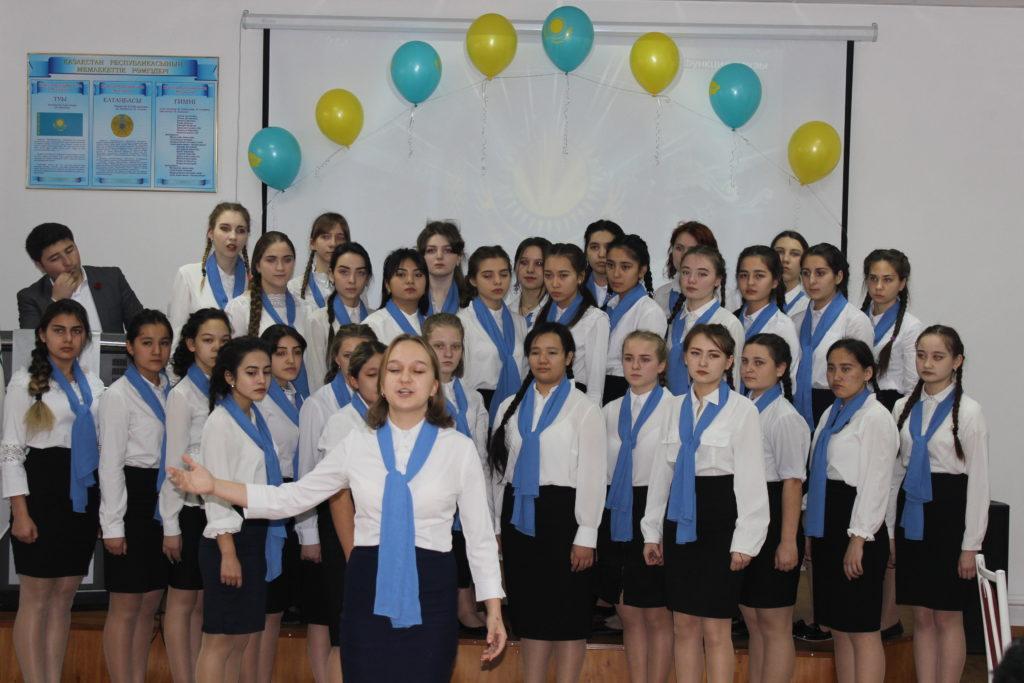 15.12.2018 г.  проведен праздничный концерт, посвященный главному государственному празднику – Дню Независимости Республики Казахстан