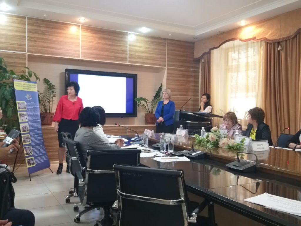 Коллектив АГГПК #2 поздравляет директора колледжа Дуанабаеву Б.Ч. и замдиректора по УМР Зинковец И.А.