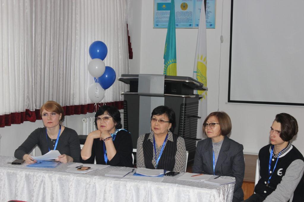 с 21.11.2019 г. начала работу группа внешнего аудита НКЦА в рамках специализированной аккредитации в ГККП «Алматинский государственный гуманитарно-педагогический колледж №2».